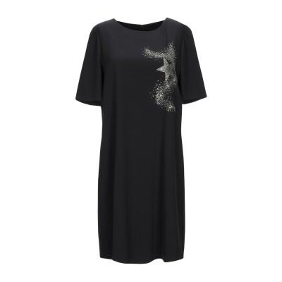 BOUTIQUE MOSCHINO ミニワンピース&ドレス ブラック 38 ポリエステル 92% / ポリウレタン 8% ミニワンピース&ドレス