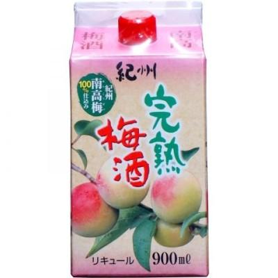 【単品】紀の司 紀州完熟梅酒 900ml 8度
