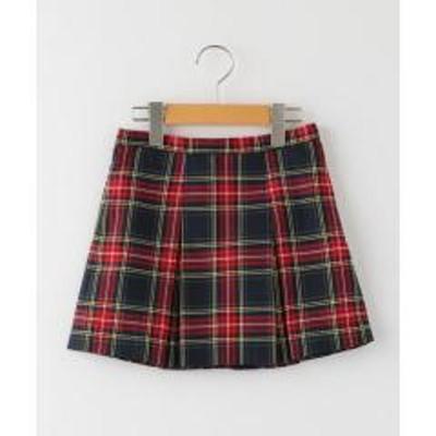 シップスSHIPS KIDS:タータンチェック スカート(100~130cm)【OCCASION COLLECTION】【お取り寄せ商品】
