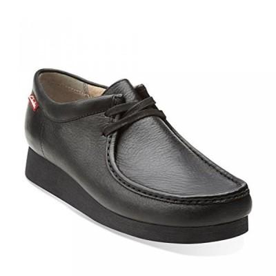 クラークス メンズ ブーツ Clarks Stinson Men's Boots Black 66019
