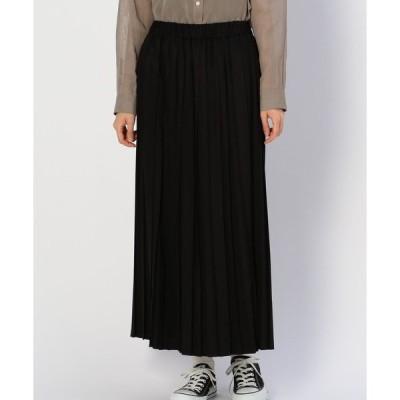 スカート 【MORRIS & SONS】ランダムプリーツスカート WOMEN