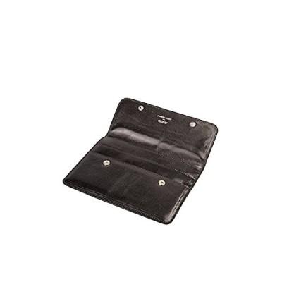 Maxwell Scott Leather Travel Wallet - Torrino Black