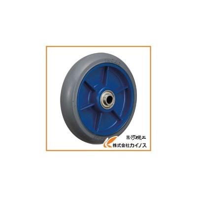 イノアック 低始動抵抗キャスター 車輪のみ Φ150 グレー シャフトΦ12 LR-150W-GR