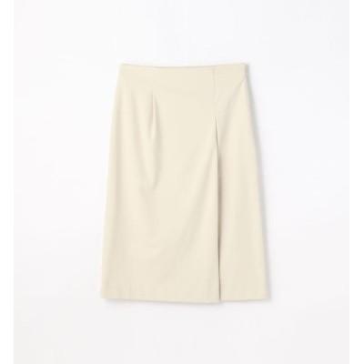 【トゥモローランド/TOMORROWLAND】 ナイロンレーヨン アシンメトリーIラインスカート