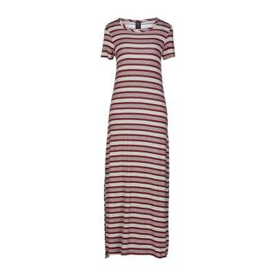 GUTTHA ロングワンピース&ドレス ボルドー S レーヨン 75% / ポリウレタン 25% ロングワンピース&ドレス