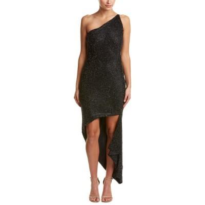 イシュー ワンピース トップス レディース issue New York Silk Gown black