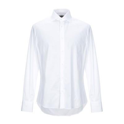J.D. WILSON シャツ ホワイト 43 コットン 100% シャツ