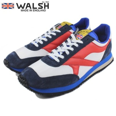 WALSH ウォルシュ TORNADE トルネード ホワイト/ネイビー/レッド TOR50005