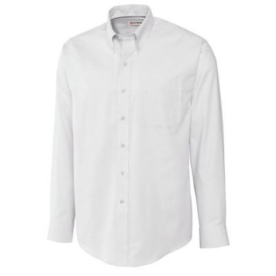 カッターアンドバック メンズ シャツ トップス Men's Long Sleeve Nailshead Shirt