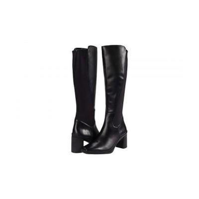 Naturalizer ナチュラライザー レディース 女性用 シューズ 靴 ブーツ ロングブーツ Axel Waterproof - Black Leather/Neoprene