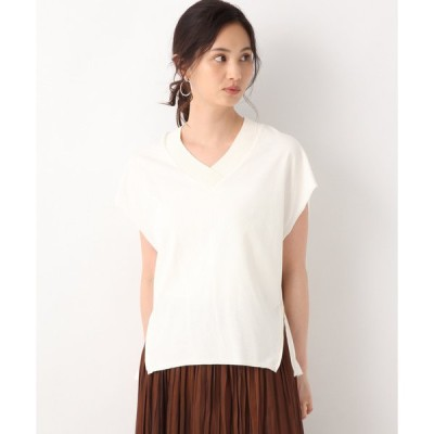 tシャツ Tシャツ サイドZIPカットベスト/842235