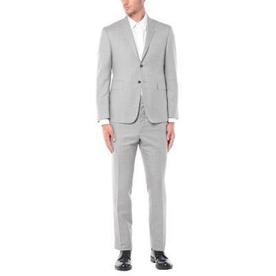 トム ブラウン THOM BROWNE スーツ ライトグレー 3 100% ウール スーツ