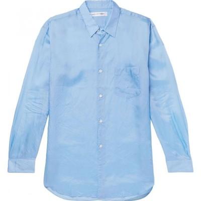 コム デ ギャルソン COMME des GARCONS SHIRT メンズ シャツ トップス Solid Color Shirt Sky blue