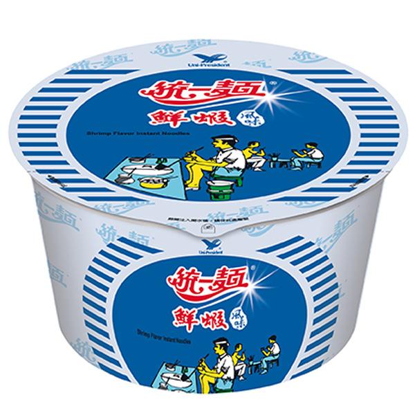 統一鮮蝦碗麵83g