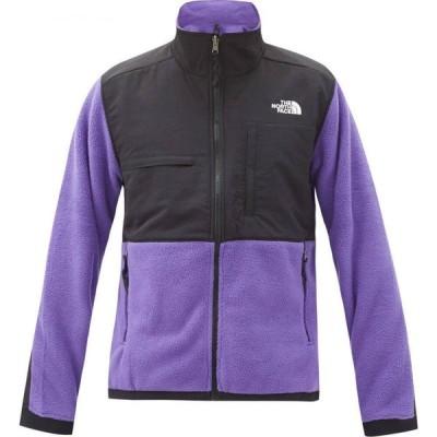 ザ ノースフェイス The North Face メンズ フリース トップス Denali 2 fleece-panelled jacket Purple
