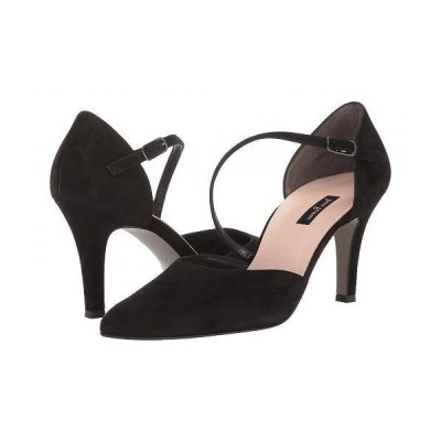 Paul Green ポールグリーン レディース 女性用 シューズ 靴 ヒール Valetta Heel - Black Suede