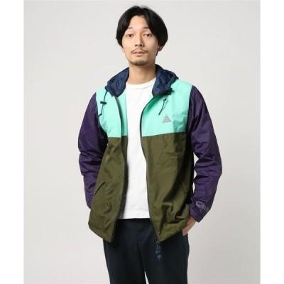 ジャケット ブルゾン ALL GOOD オールグッド/ マルチカラー切り替え フードブルゾン Imu Elevation W18-2006
