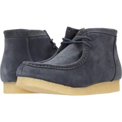 ローパー Roper メンズ ブーツ シューズ・靴 Gum Sticker Grey Suede Leather