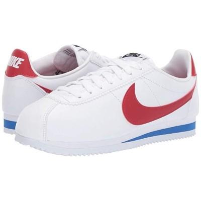 ナイキ Classic Cortez Leather レディース スニーカー シューズ 靴 White/Red/Varsity Royal