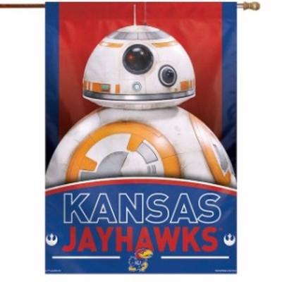 WinCraft ウィンクラフト スポーツ用品  WinCraft Kansas Jayhawks 28 x 40 Star Wars Single-Sided House Banner