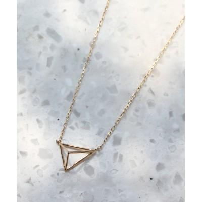 【ジュピター】 tetrahedronネックレス レディース ゴールド F jupiter