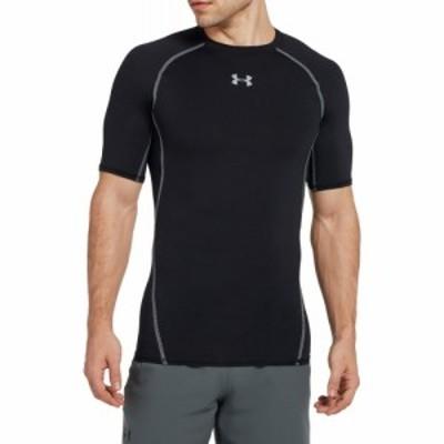 アンダーアーマー Under Armour メンズ Tシャツ トップス HeatGear Armour T-Shirt Black/Steel