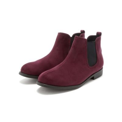 VIVIAN COLLECTION / 軽量ソール&ローヒールサイドゴアショートブーツ WOMEN シューズ > ブーツ