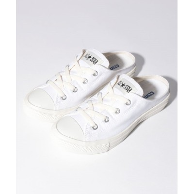 【コンバース】 ALL STAR ライト ミュール スリップ OX ユニセックス ホワイト 22.5cm CONVERSE