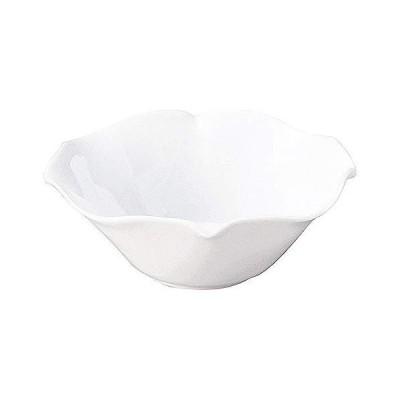 姿月窯 花笑み 白 17.5cmボウル 和食器 ボール 日本製 業務用 65-56000020