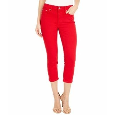 ラルフローレン レディース デニムパンツ ボトムス Petite Premier Straight Crop Jeans in Bold Red Wash Bold Red Wash