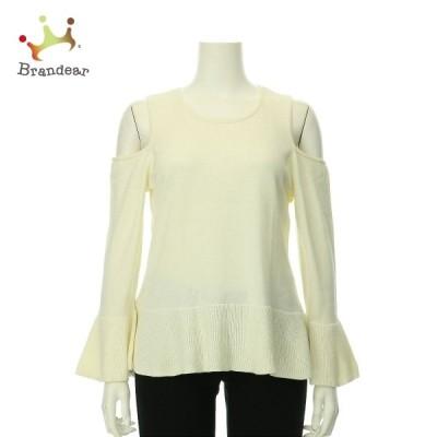 シーシー CeCe 長袖セーター サイズXL レディース 新品未使用 ホワイト系 ニット・セーター   スペシャル特価 20210107