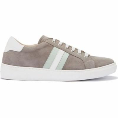 ミルトン ベルベット Mint Velvet レディース スニーカー シューズ・靴 Allie Grey and Mint Trainer Grey