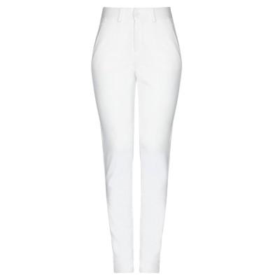 ANNA SERAVALLI パンツ ホワイト 40 レーヨン 68% / ナイロン 27% / ポリウレタン 5% パンツ