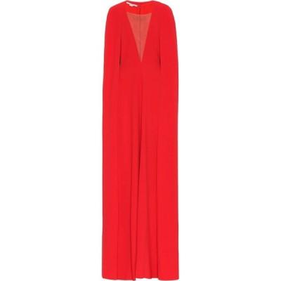 ステラ マッカートニー Stella McCartney レディース パーティードレス ワンピース・ドレス Crepe gown Orange/Castagna