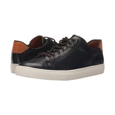 Frye フライ メンズ 男性用 シューズ 靴 スニーカー 運動靴 Walker Low Lace - Black Tumbled Full Grain
