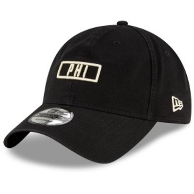 ニューエラ メンズ 帽子 アクセサリー Philadelphia Union New Era Letter Code 9TWENTY Adjustable Hat Navy