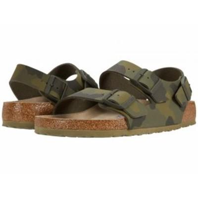 Birkenstock ビルケンシュトック メンズ 男性用 シューズ 靴 サンダル Milano Soft Footbed Desert Soil Camo Green【送料無料】