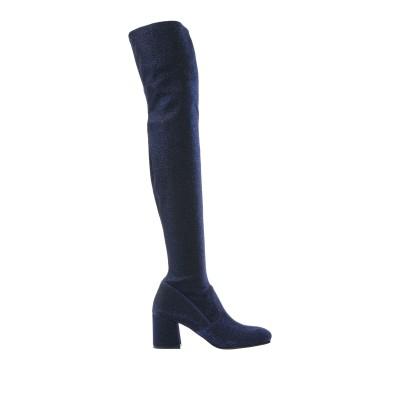 レ・シーラ LE SILLA ブーツ ダークブルー 35 紡績繊維 ブーツ