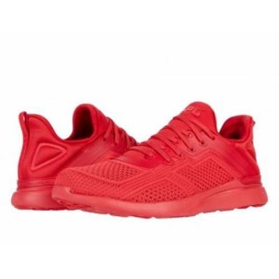 Athletic Propulsion Labs (APL) レディース 女性用 シューズ 靴 スニーカー 運動靴 Techloom Tracer Red【送料無料】