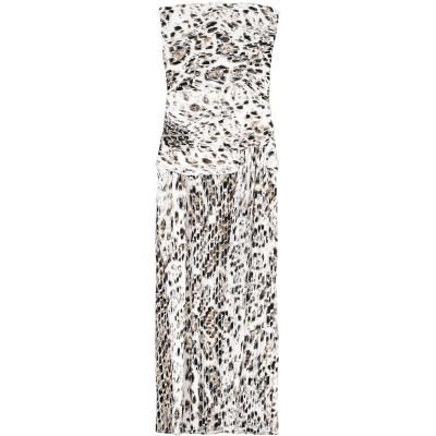 ホルストン・ヘリテージ HALSTON ロングワンピース&ドレス ホワイト 0 ポリエステル 100% ロングワンピース&ドレス