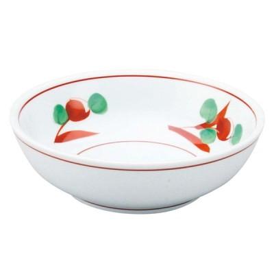 アルセラム強化食器 赤絵浅鉢 EC8-8