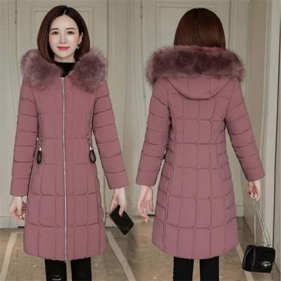 ダウンジャケット レディース TKLKSDY29955 ダウンコート 立ち襟 暖かい ショート丈 軽量 フード付き 冬アウター コート 無地 防寒 スリム