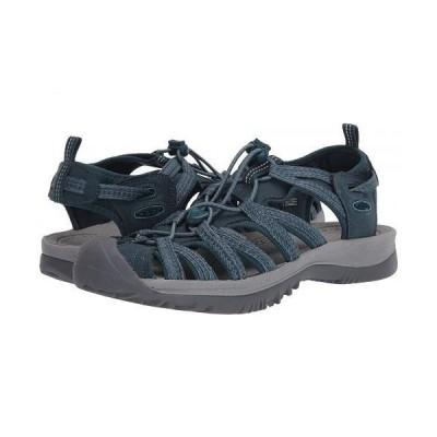 Keen キーン レディース 女性用 シューズ 靴 サンダル Whisper - Smoke Blue