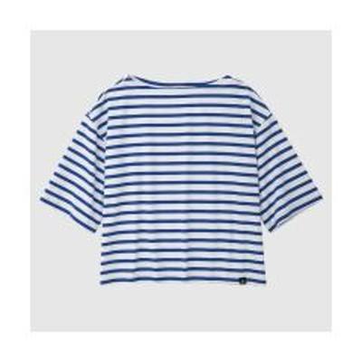ルコックスポルティフ半袖ボーダーシャツ
