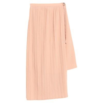 コンタット KONTATTO 7分丈スカート ローズピンク M ポリエステル 100% 7分丈スカート