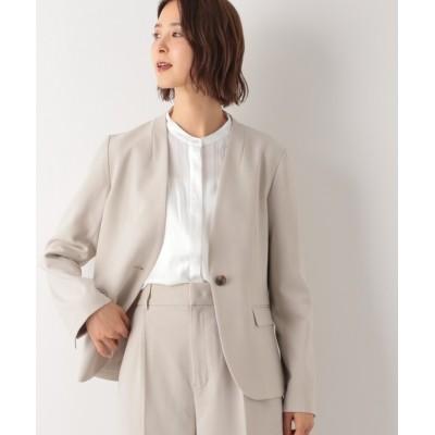 LEPSIM / 【洗える】ノーカラージャケット【WEB限定カラーあり】 886083 WOMEN ジャケット/アウター > ノーカラージャケット