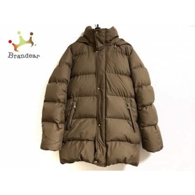 ジムフレックス Gymphlex ダウンコート サイズ12 L レディース 美品 ブラウン 冬物       スペシャル特価 20200710