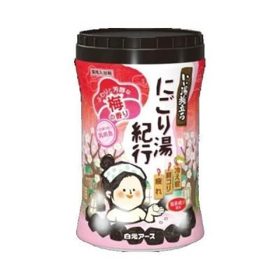 いい湯旅立ちボトル にごり湯紀行 梅の香り600g × 2個セット