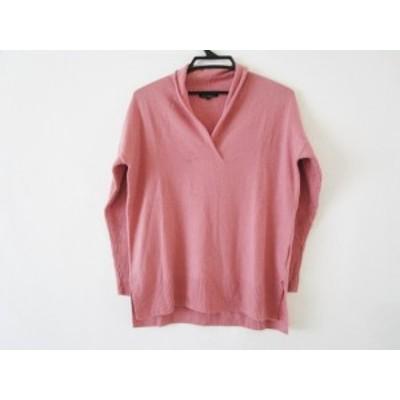 ニジュウサンク 23区 長袖セーター サイズ38 M レディース ピンク ニット【中古】20200429