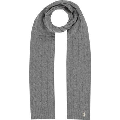 ラルフ ローレン Polo Ralph Lauren レディース マフラー・スカーフ・ストール Wool Scarves Fawn Grey